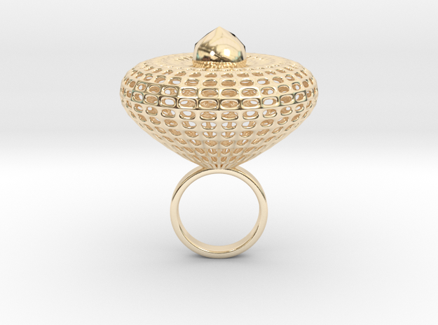 Trulimpo in 14k Gold Plated Brass