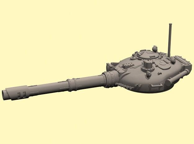 28mm T-72 style Challenger tank turret