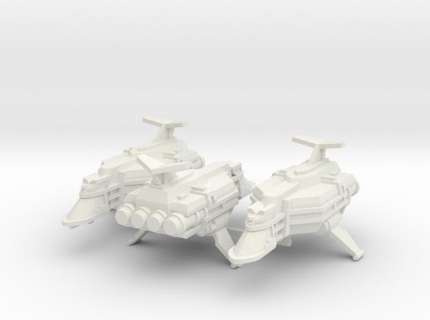 Escolta de Renombre Vanguardia x3 in White Natural Versatile Plastic