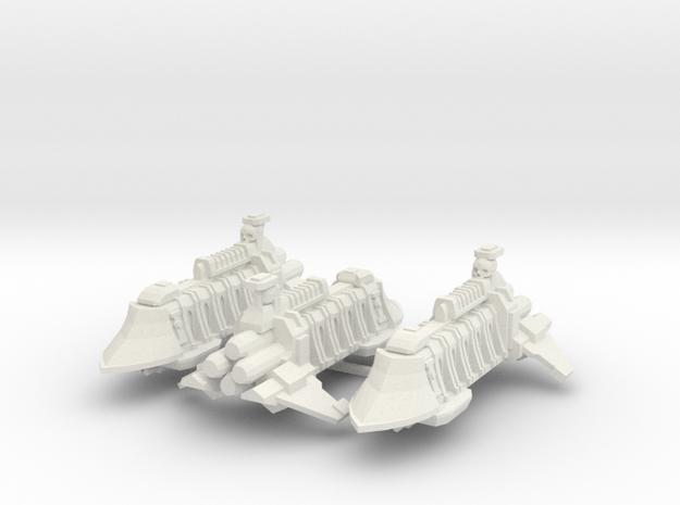 Escolta de Renombre Clarin x3 in White Natural Versatile Plastic