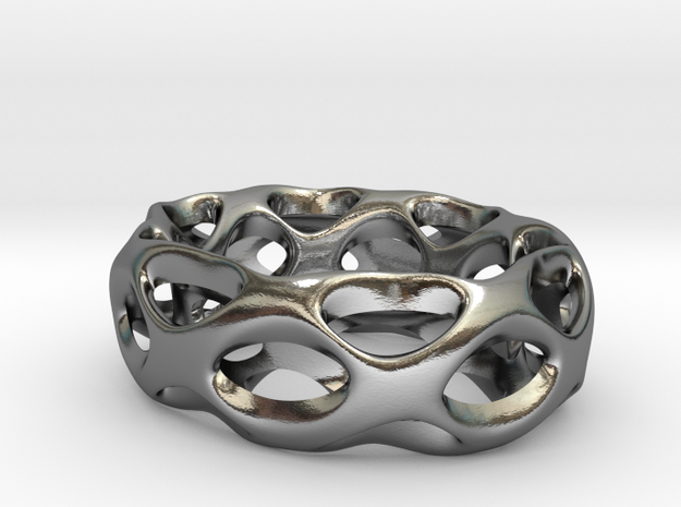 Torus in Polished Silver