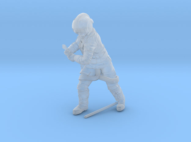Prodigal son Coldweather (helmet) in Smoothest Fine Detail Plastic