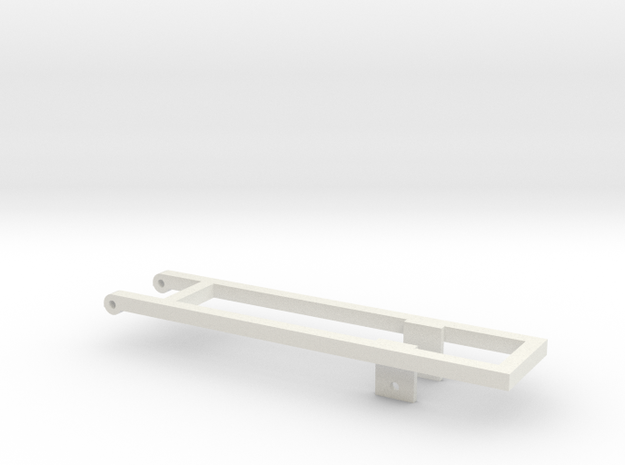 KN16 mounting frame in White Natural Versatile Plastic