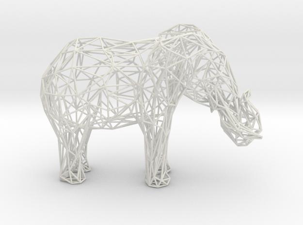 Wireframe Elephant XXL