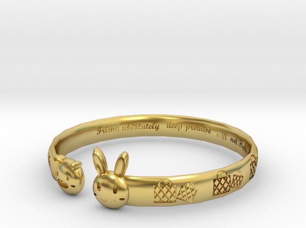 Trilogy- Go shopping in Polished Brass: Medium