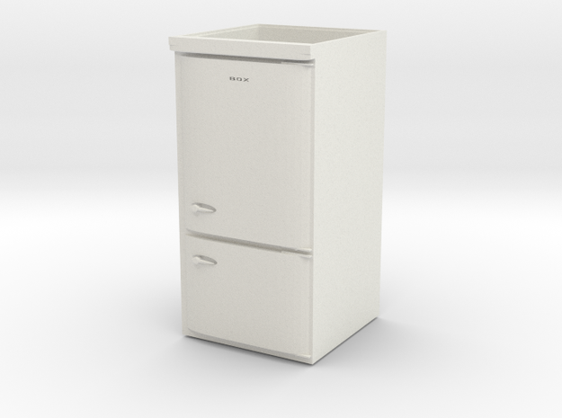 refrigerator box in White Natural Versatile Plastic