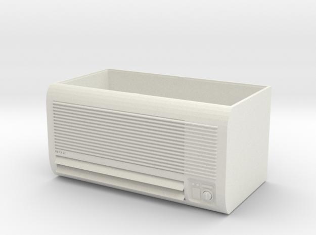 Air conditioning box in White Natural Versatile Plastic