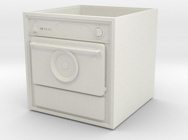 Clothes dryer in White Natural Versatile Plastic