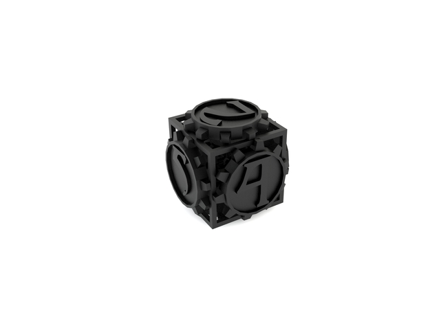 Dice, d6 in White Strong & Flexible