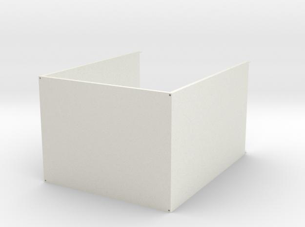 Expandable storage cabinet in White Natural Versatile Plastic
