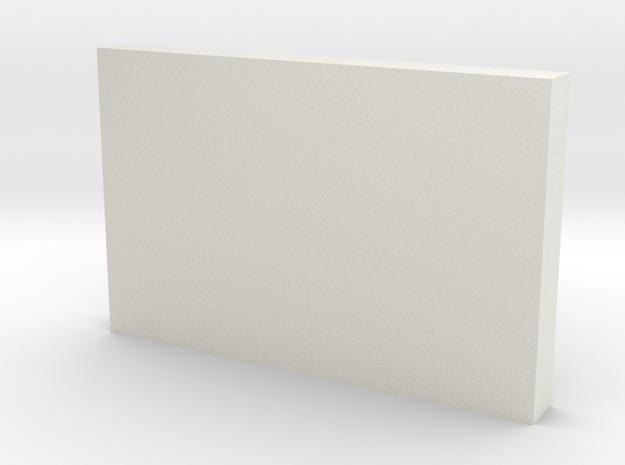 Document folder in White Natural Versatile Plastic