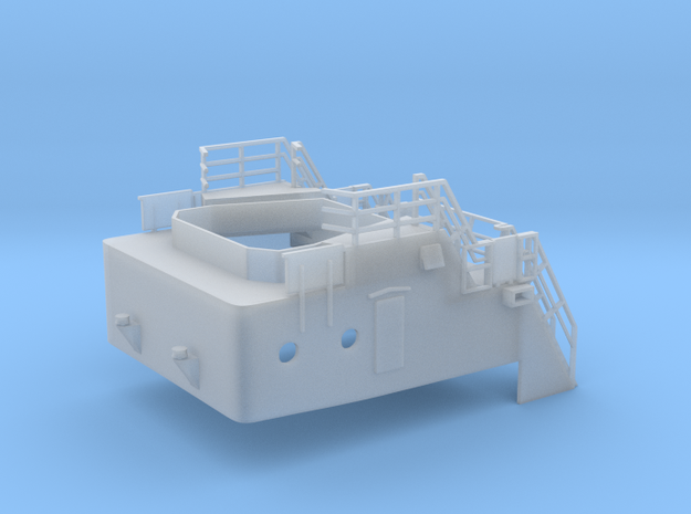 Superstructure V63 1/144 fits Harbor Tug in Smooth Fine Detail Plastic