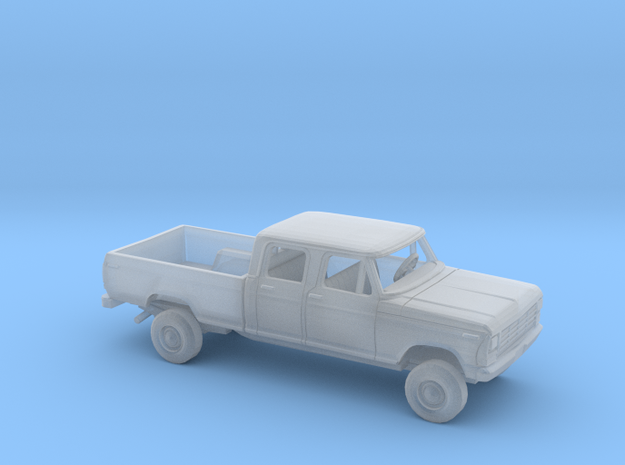 1/87 1978/79 Ford F-Series Crew Cab Reg. Bed Kit in Smooth Fine Detail Plastic