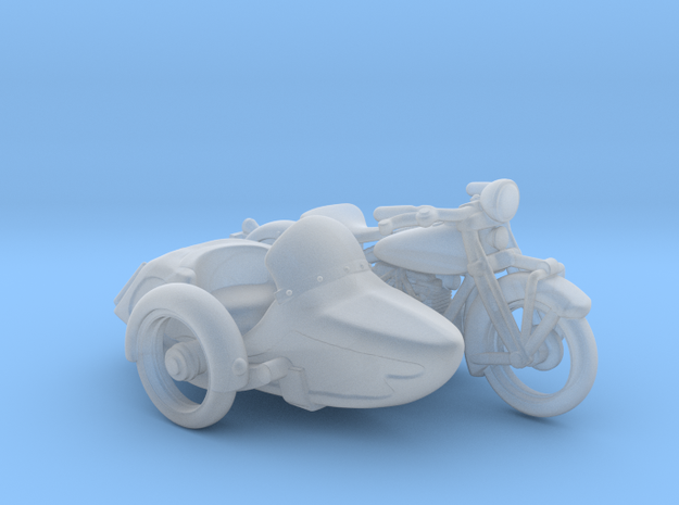 Indian Four Sidecar    1:87 HO in Smooth Fine Detail Plastic