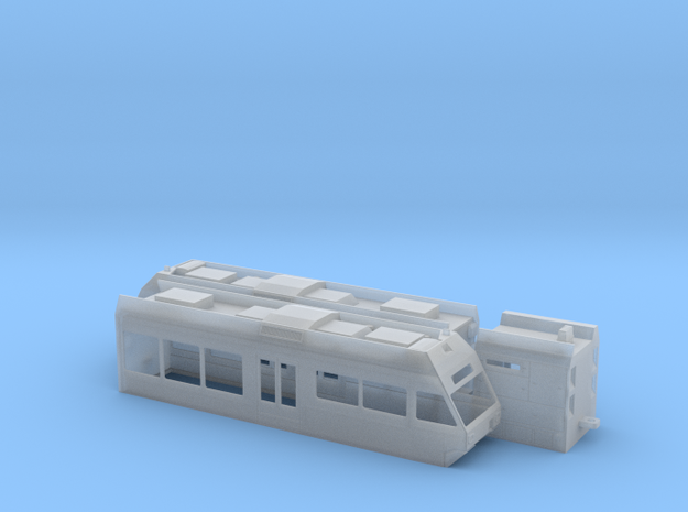 CEV/MVR Be 2/6 in Smooth Fine Detail Plastic: 1:120 - TT
