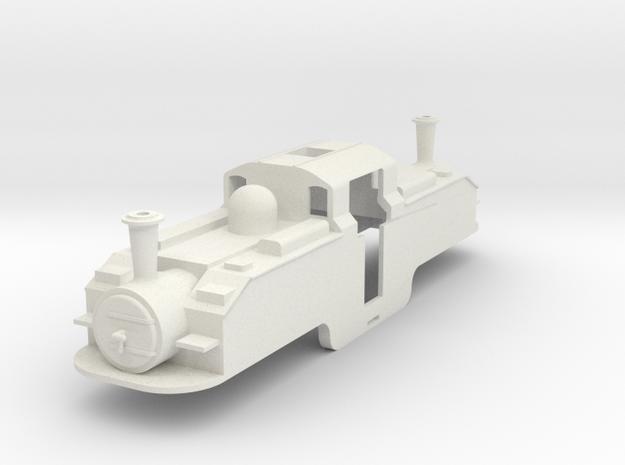 BM5-002 5.5mm Scale FR Earl of Merioneth Oil Burne in White Natural Versatile Plastic