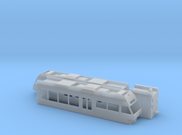 ZSSK 425.95 in Smooth Fine Detail Plastic: 1:120 - TT
