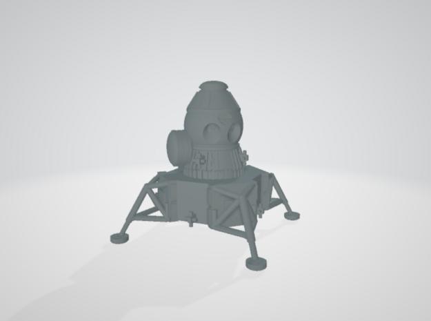 1/144 energia lunar lander in White Natural Versatile Plastic