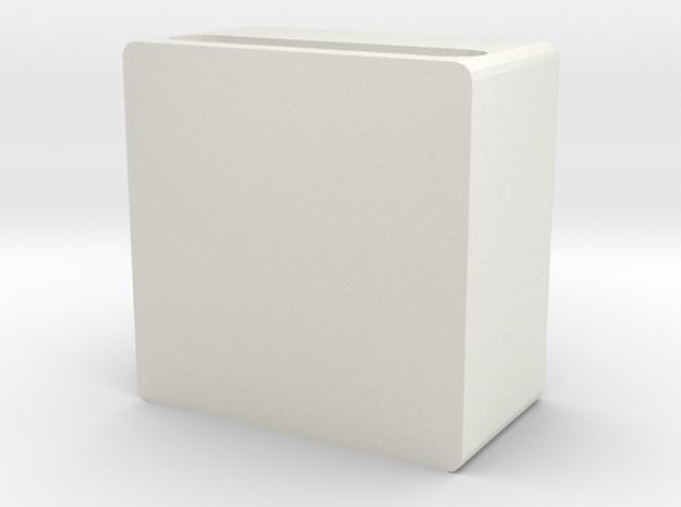 Mobile phone amplifier in White Natural Versatile Plastic