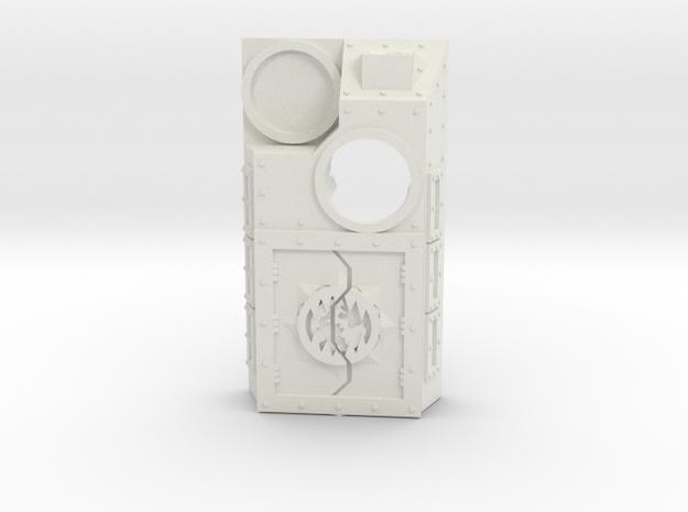 Berzerker Suppressor Topper in White Natural Versatile Plastic