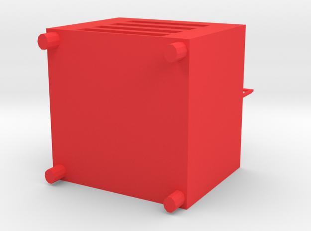 Desk lamp in Red Processed Versatile Plastic