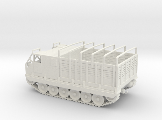 1/87 Scale M8E2 High Speed Tractor in White Natural Versatile Plastic