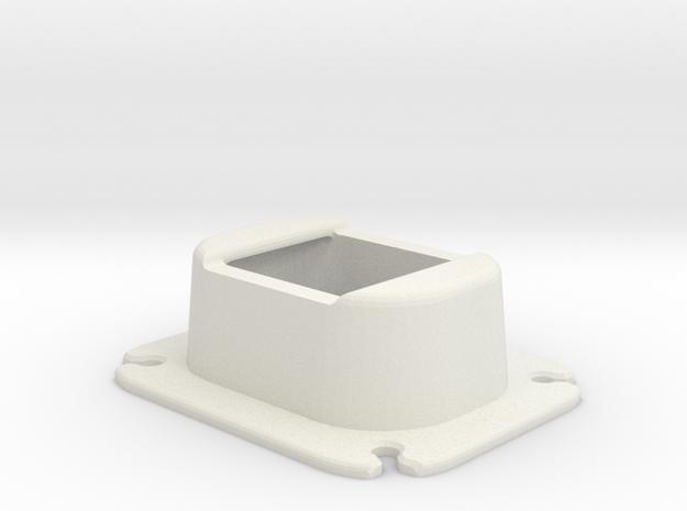 Fish Tank Artificial Plant Holder in White Natural Versatile Plastic
