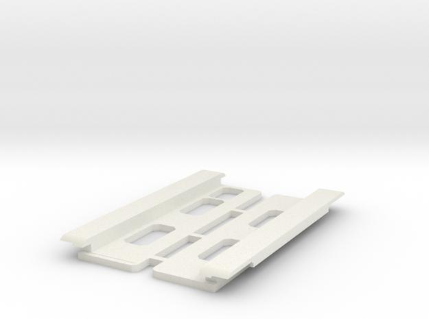 USB Sidecar for MiSTer XS Case Panels (2/2) (v1.1) in White Natural Versatile Plastic