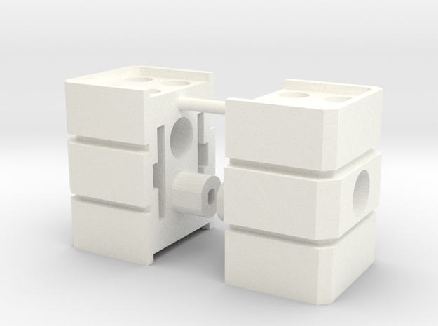 Siege Deluxe Class COG Add On Kit (Legs parts) in White Processed Versatile Plastic