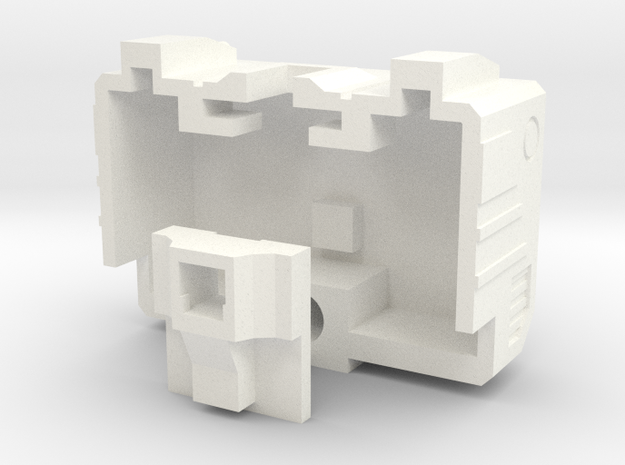 Siege Deluxe Class COG Add On Kit ( Back parts) in White Processed Versatile Plastic