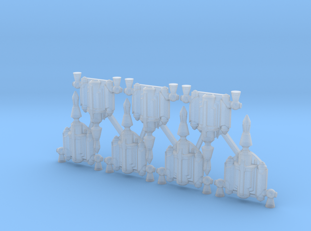 Son Jetpacks (x7) in Smoothest Fine Detail Plastic