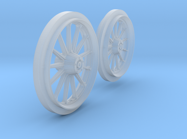 HD 883 Iron Wheels in Smooth Fine Detail Plastic