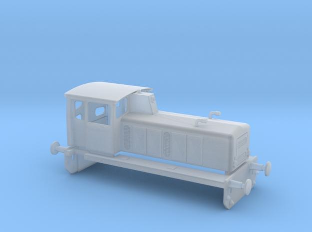 Brohltalbahn D1-D3 in Smooth Fine Detail Plastic: 1:120 - TT
