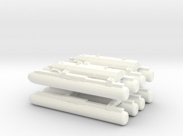 1.18 POD MISSILES HELLFIRE in White Processed Versatile Plastic