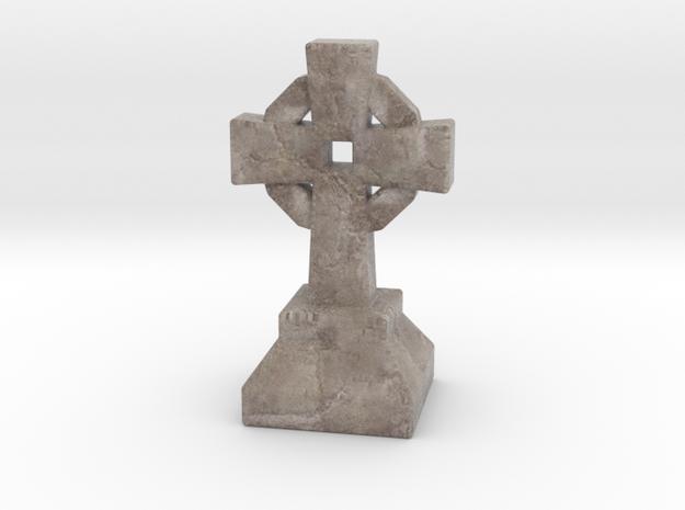 Miniature Stone Cross 03