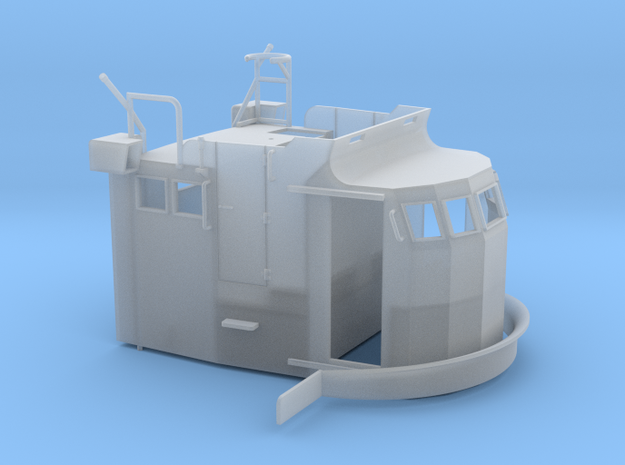 S38 Wheelhouse 1-72 20190110 in Smooth Fine Detail Plastic