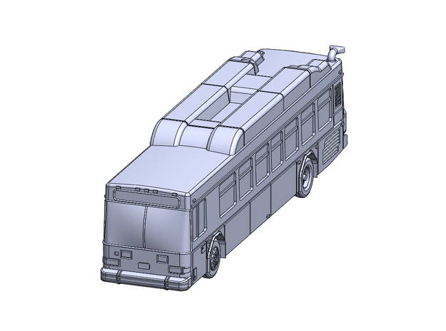 GilligLow40' CNG in Smoothest Fine Detail Plastic: 6mm