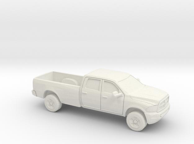 1/48 2013 Dodge Ram Crew Long Bed Shell in White Natural Versatile Plastic