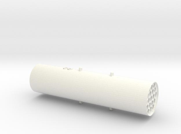 1.18 M261 ROQUETTE LAUNCHER (A) in White Processed Versatile Plastic