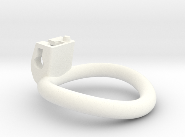 Cherry Keeper Circular Ring - 42mm in White Processed Versatile Plastic