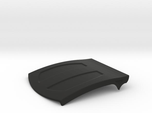 Lasernut Replica Roof Panel for UCFab in Black Natural Versatile Plastic