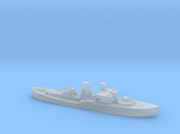Flower Class corvette 1:2400 GBR WW2 naval in Smoothest Fine Detail Plastic
