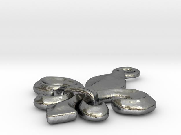 Fleur-De-Lis in Polished Silver