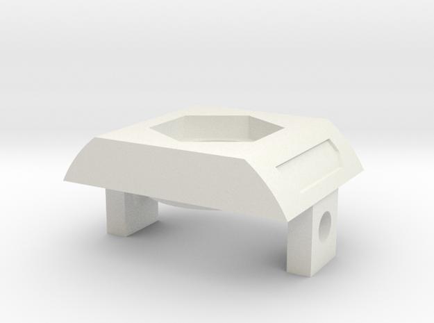 K4-ElitePortHolder - part 3/9 in White Natural Versatile Plastic