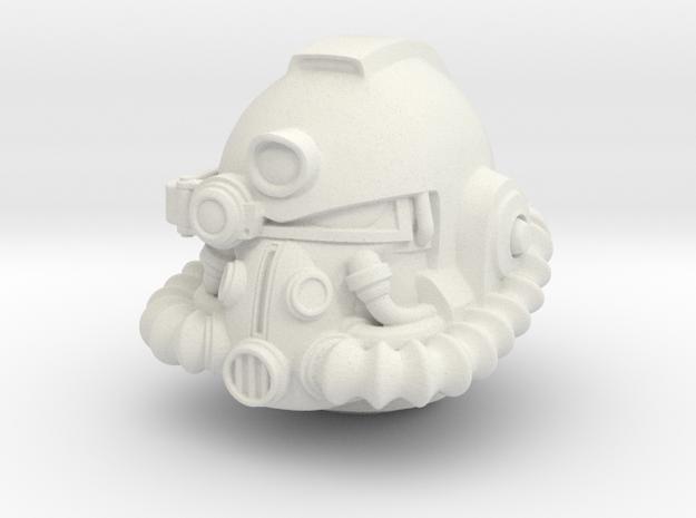 mk51 helmet in White Natural Versatile Plastic