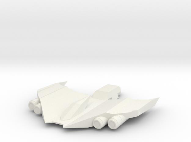 The Meteor in White Natural Versatile Plastic