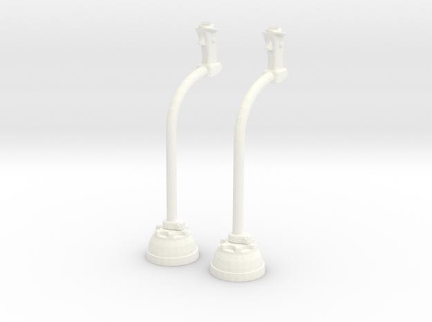 1.10 CYCLIQUE LAMA in White Processed Versatile Plastic