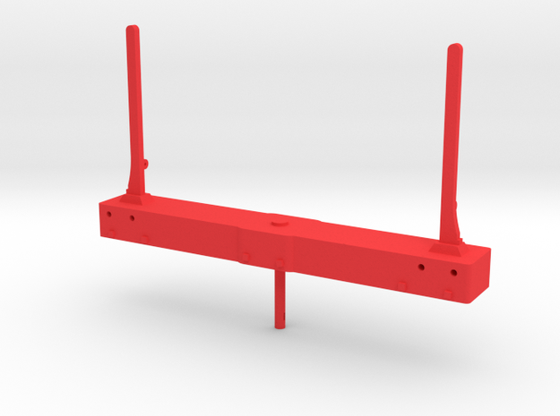 AC03 FR Swivelling Bolster from FRB05 (SM32) in Red Processed Versatile Plastic