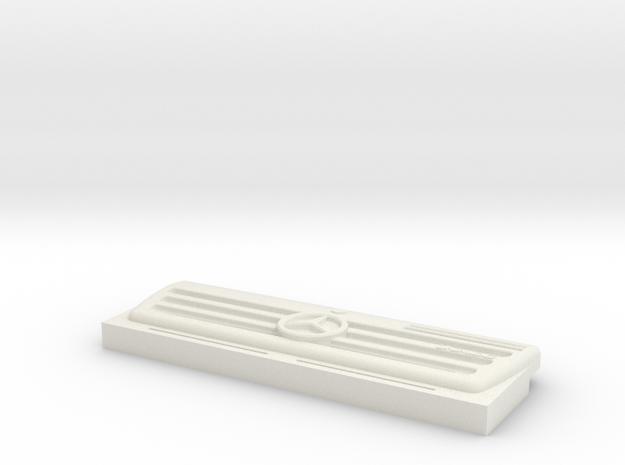 Unimog Grill 1:16 in White Natural Versatile Plastic