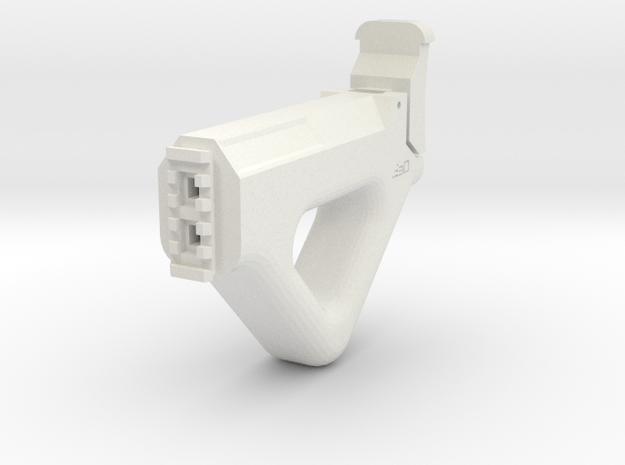 MP32PDW Shoulder Stock in White Natural Versatile Plastic